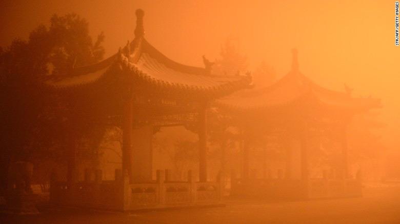 inquinamento atmosferico cinese