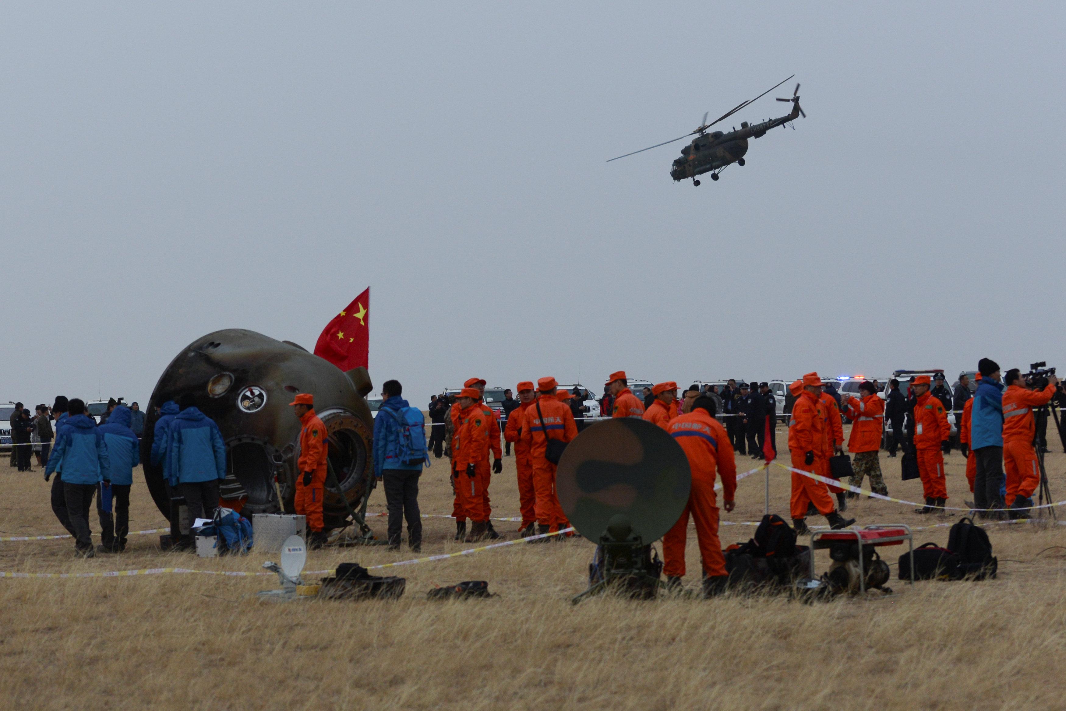 Shenzhou 11 recupero