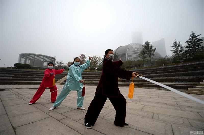 inquinamento atmosferico in Cina