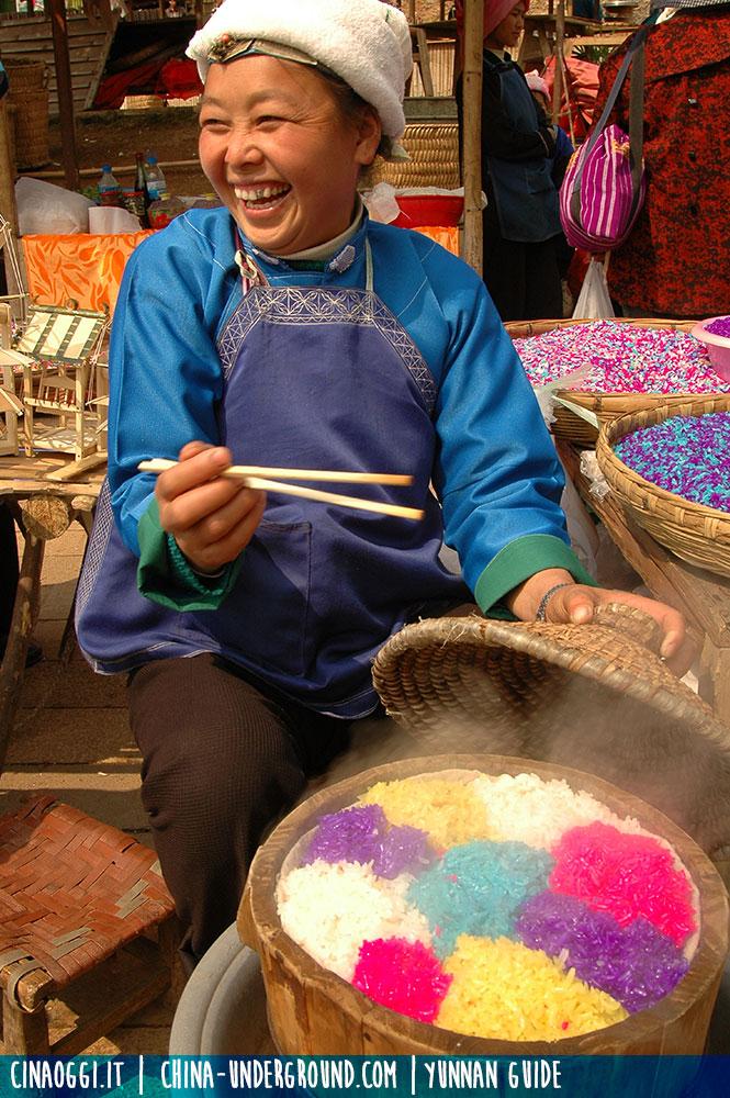 riso colorato