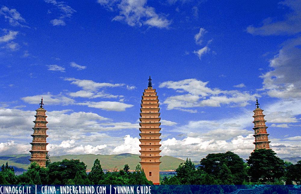 Le tre pagode a Dali