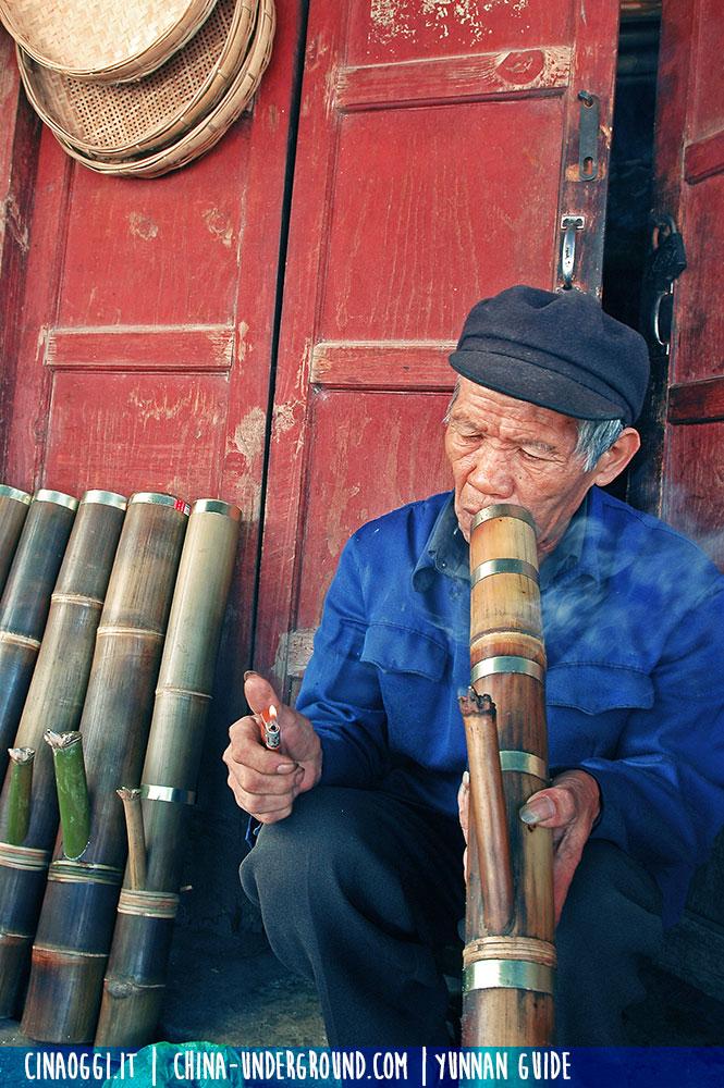 anziani in Cina