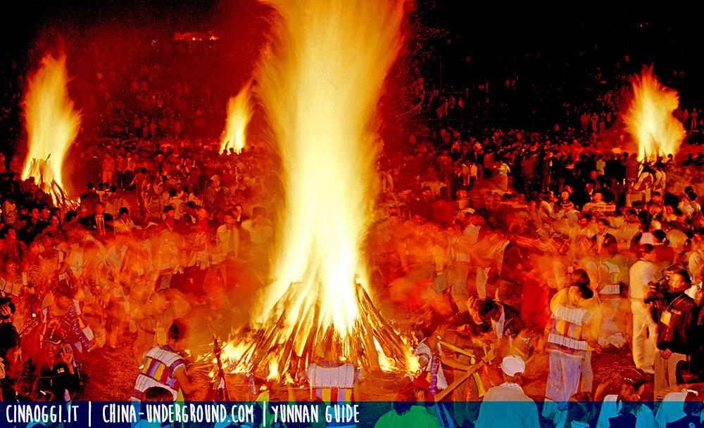 Yi torch festival