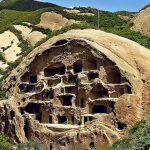 Le millenarie case di Guyaju scavate nella roccia