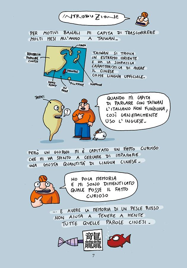 il cinese a fumetti