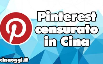pinterest censurato in Cina