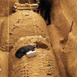 E' stata rinvenuta una piccola piramide in un cantiere di Zhengzhou