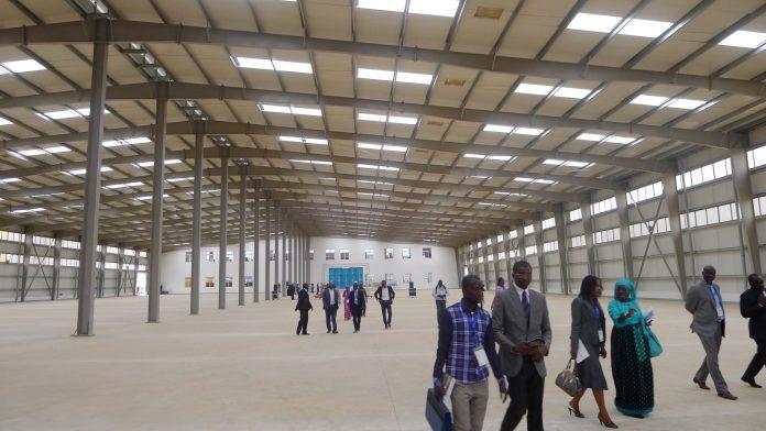 parco industriale in Senegal