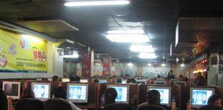 internet cafe in Cina - populismo in Cina