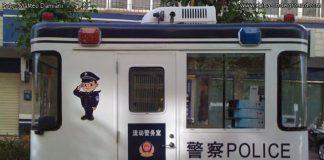 retate della polizia cinese