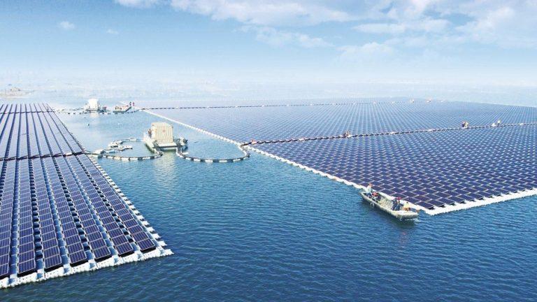 progetto solare galleggiante