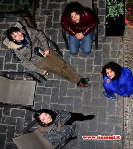 Dominique Musorrafiti, Tujiko Noriko, Massimiliano Carponi, Matteo Damiani al BigScreenFilm Festival