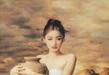 La ragazza con il vaso
