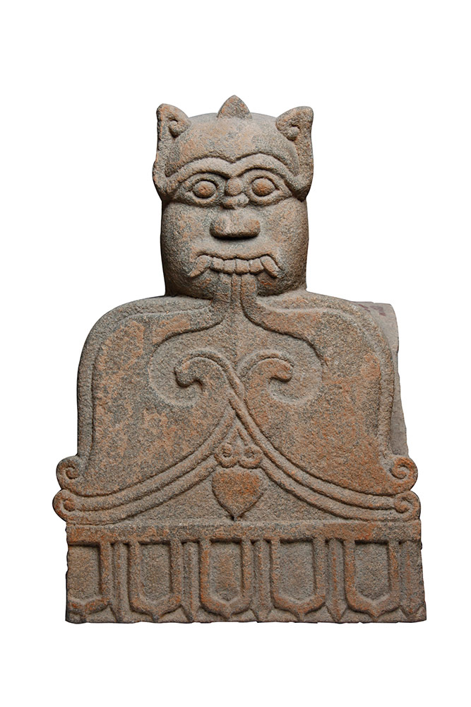 Sezione in pietra di Garuda