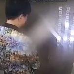 Uomo fa la pipì in ascensore e causa un cortocircuito