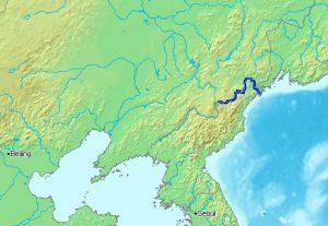 fiume tumen. Confine Cina-Corea del Nord