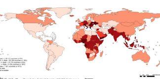 mappa-mondiale-morbillo-nel-mondo