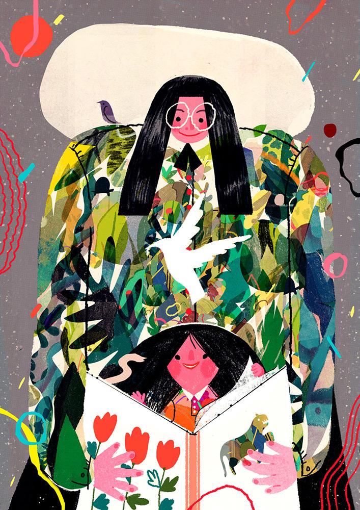 lisk feng illustratrice cinese