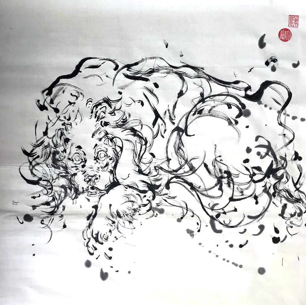 Anita Wong pittura tradizionale cinese
