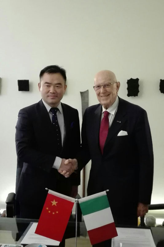 Istituto Italo Cinese incontra China Fashion Association