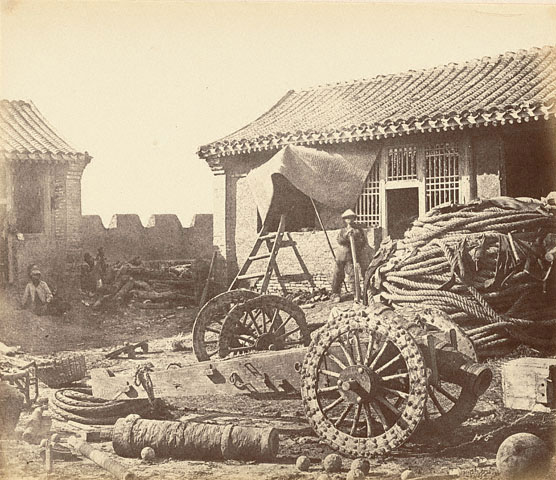 Un forte a Pehatang abbondanto dalle truppe cinesi