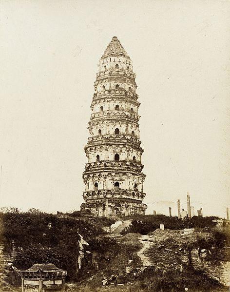 Pagoda in muratora a Canton