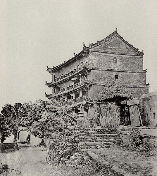 Una palazzo cinese di cinque piani a Canton