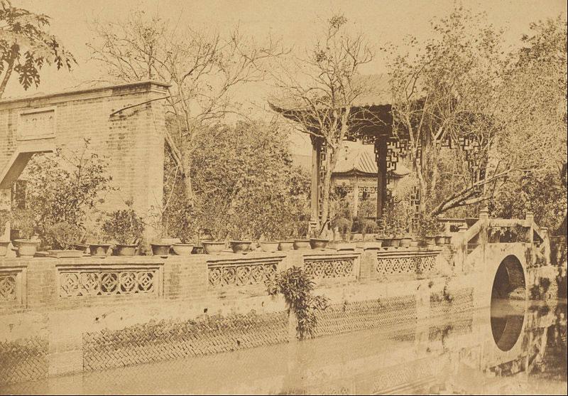 I giardini Howqua a Canton