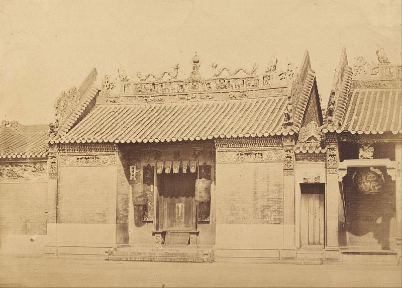 Casa degli Idoli cinesi, Canton