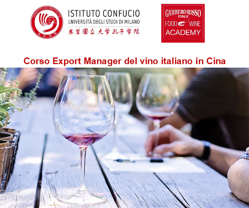 Corso Export Manager del vino italiano in Cina