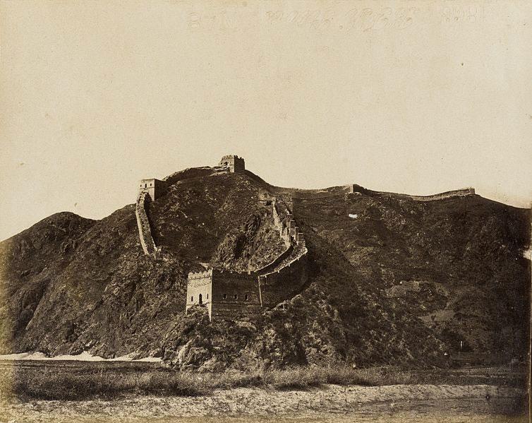 Una prozione della Grande Muraglia cinese