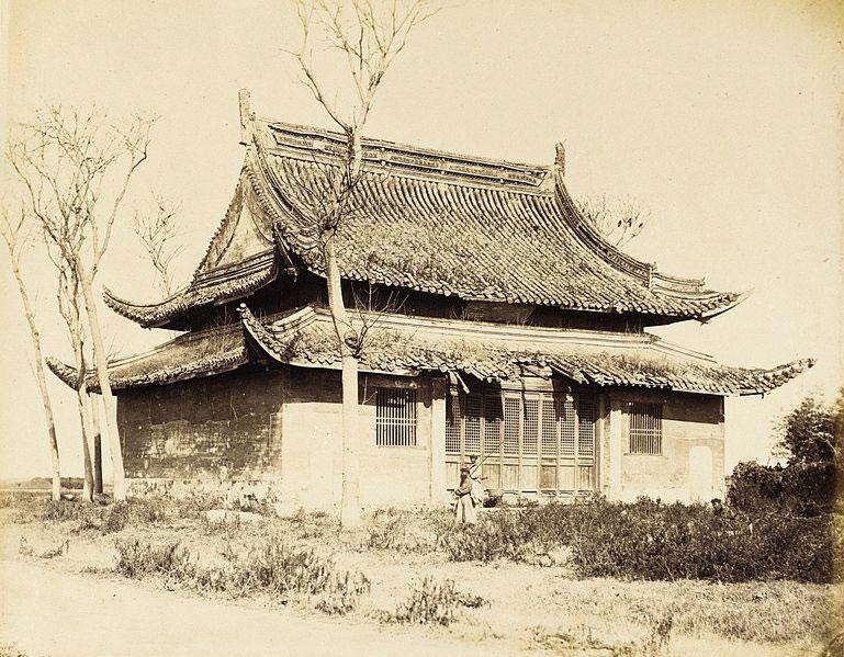 Un templio nel Nord della Cina