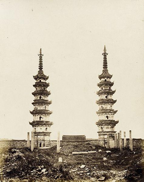 Pagode gemelle, in stile della dinastia Sung meridionale