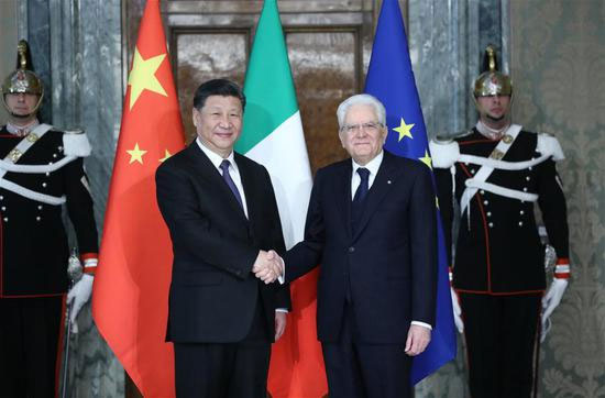 intesa commerciale Italia Cina