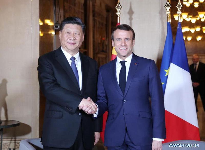 macron-xi-jinping-Rapporti Francia-Cina