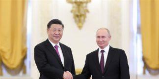 xi-jinping-vladimir-putin-Huawei 5g Russia