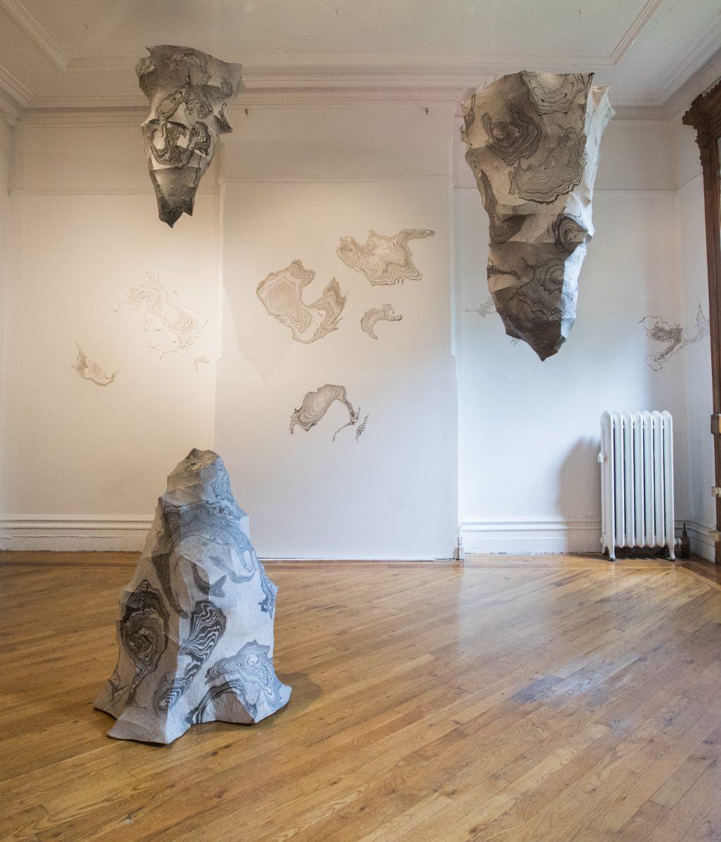 La mostra di Jisook Kim & Hilda Shen: Orogenies a New York