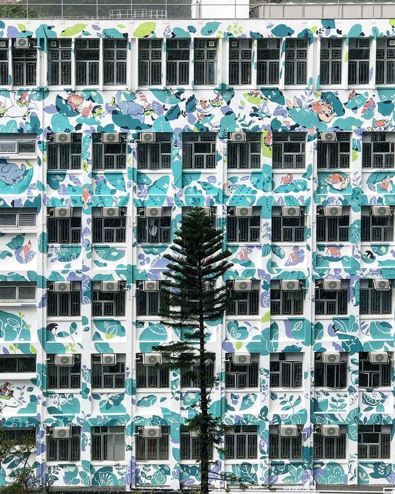 simplebao graffiti hong kong