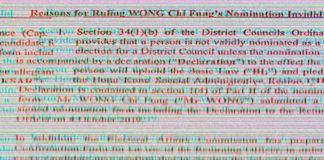 joshua wong elezioni hong kong
