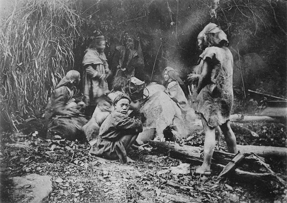 Aborigeni nelle montagne di Taiwan, 1918. Autore: Ernest Henry Wilson