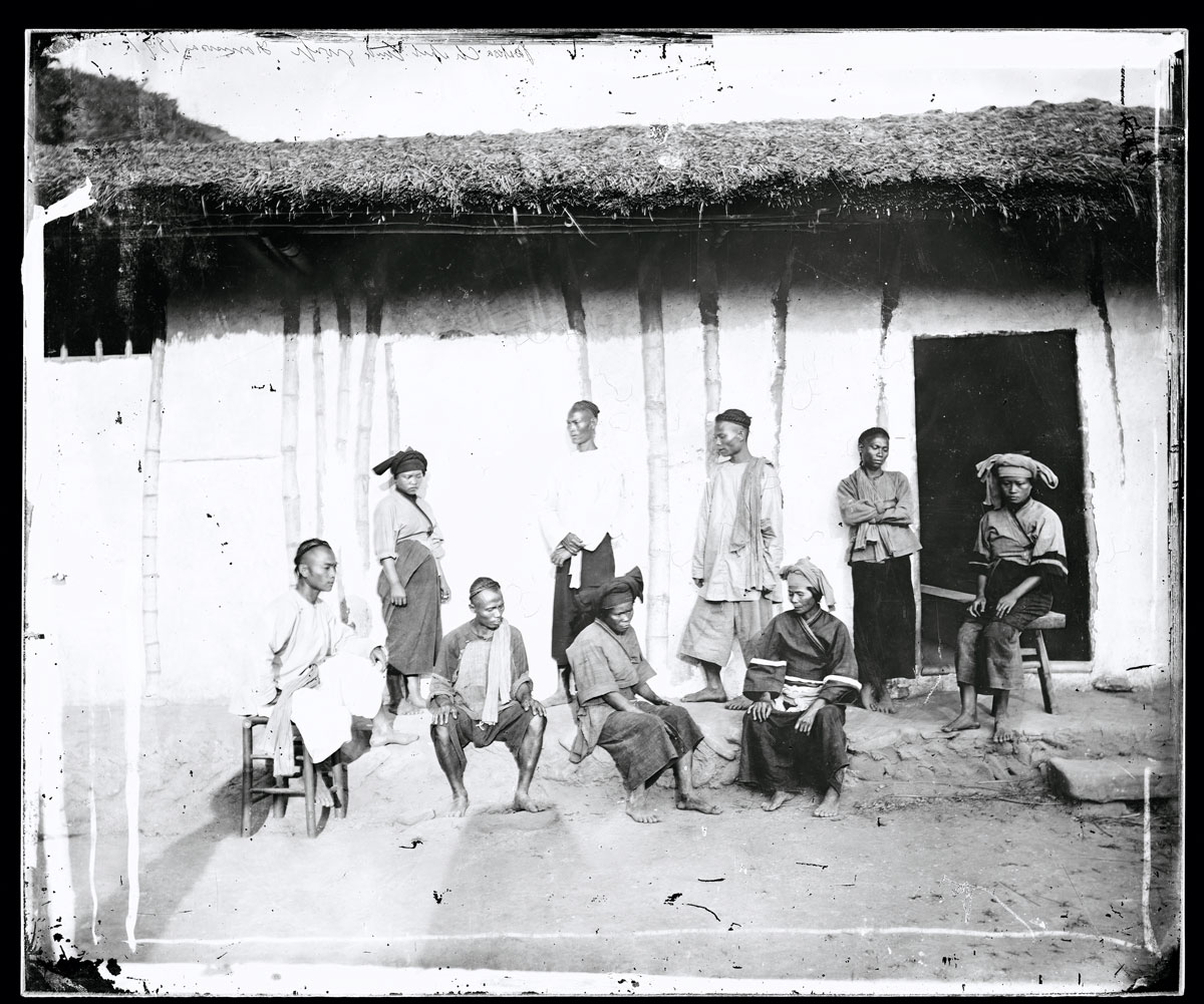 aborigeni taiwanesi Nativi Pepohoan, Formosa, Cina.