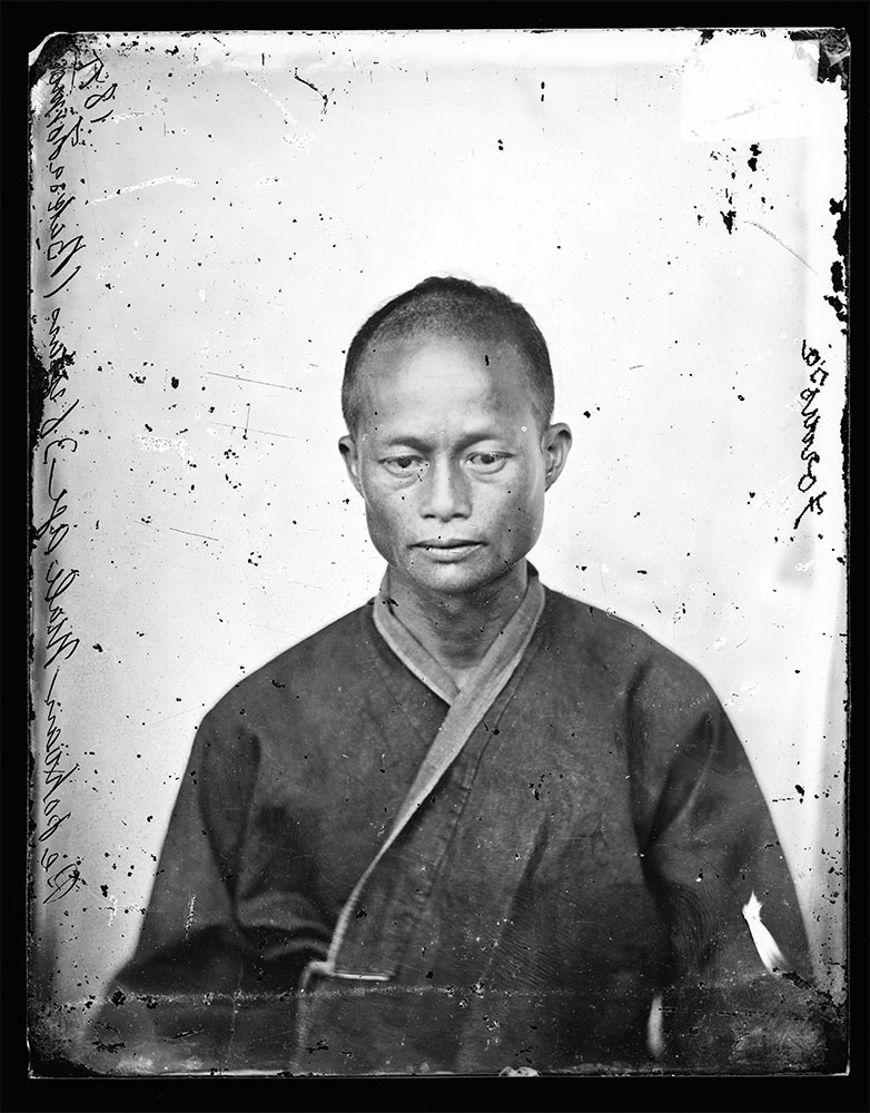 Uomo Pepohoan, 36 anni Baksa, Formosa, di John Thomson