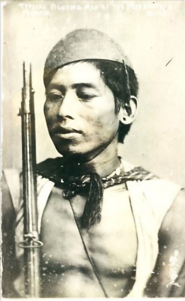 Cacciatore di teste taiwanese, prima del 1945