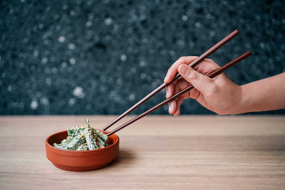 Sesame-Okra-_--chinese--dish-涼拌秋葵$48