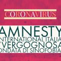 "CORONAVIRUS, Amnesty International Italia: ""Vergognosa ondata di sinofobia"""