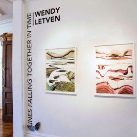Lines Falling Together: l'esposizione monografica di Wendy Letven alla Fou Gallery di New York