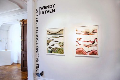 Lines Falling Together: l'esposizione monografica di Wendy Letven alla Fou Gallery di New York