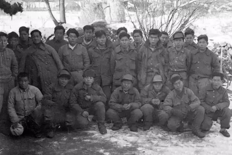 guerra di corea, volontari cinesi