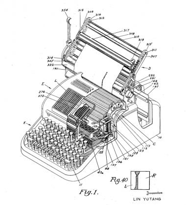 La strana storia della macchina da scrivere in Cina