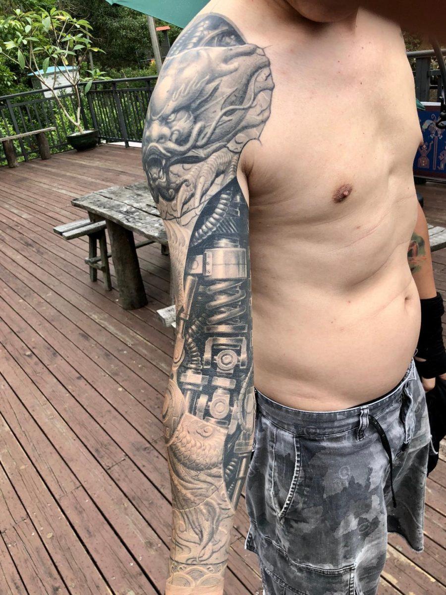 Heng Yue tatuatore cinese tatuaggi cinesi